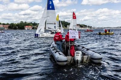 Startvorbereitungen in Kiel